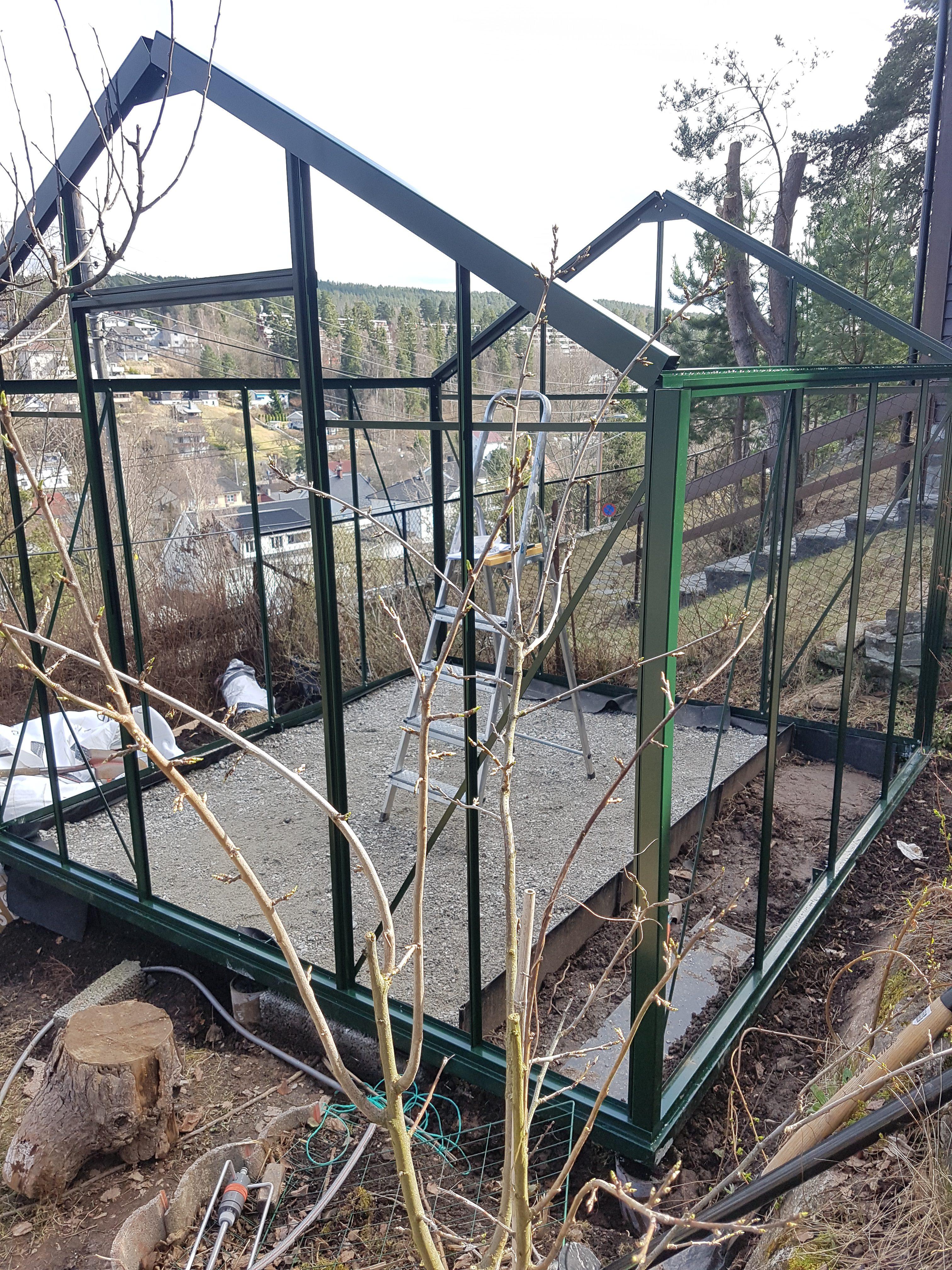 Drivhusprofiler på plass og «god ventilasjon»