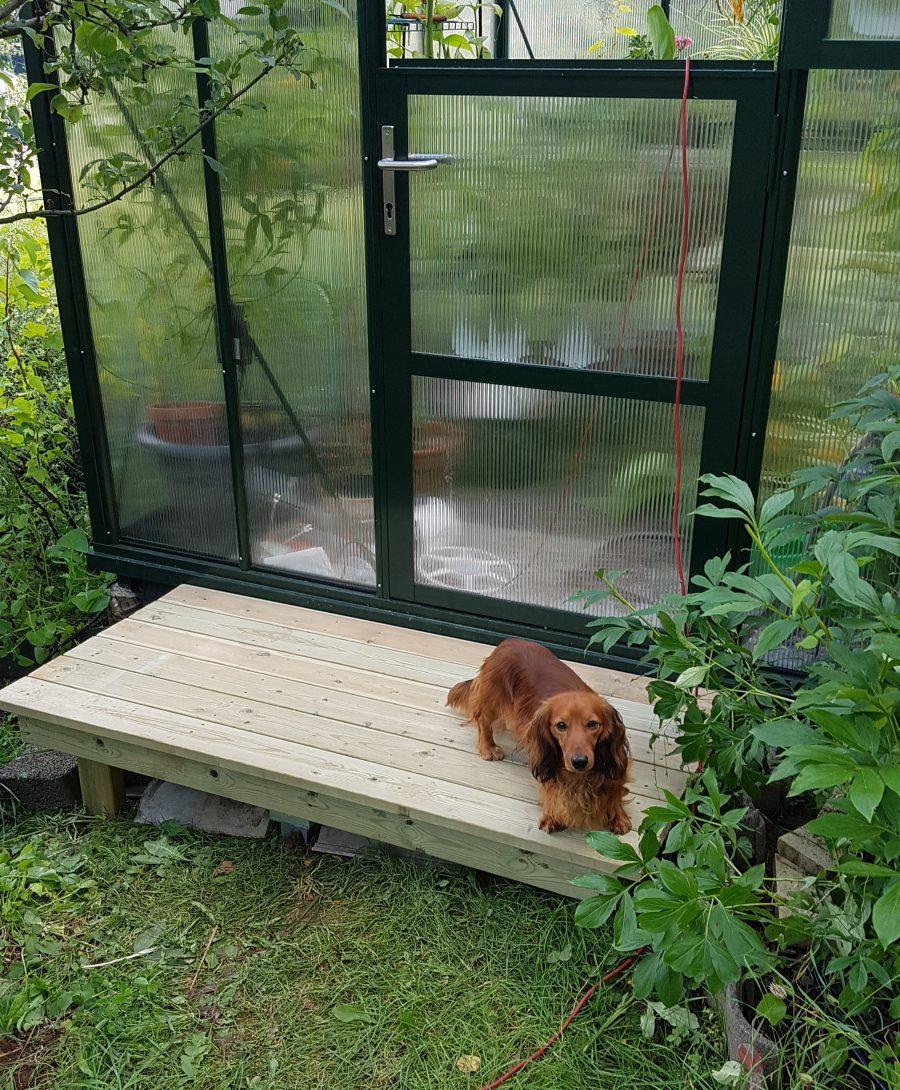 liten terrasse