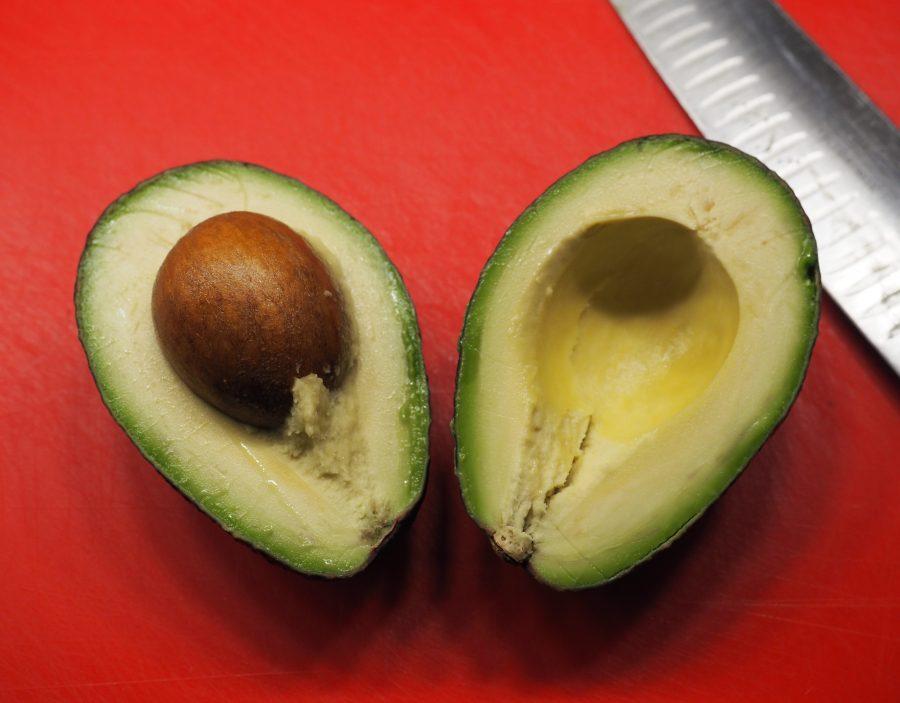 Steinfrukt avokado