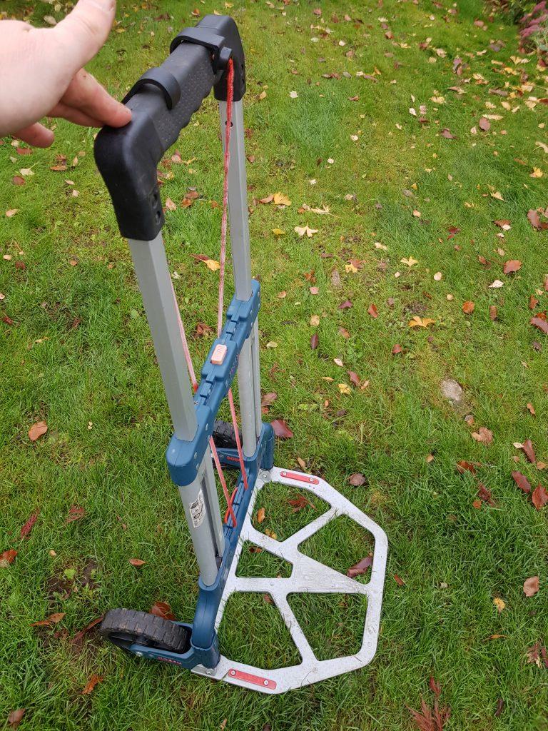 hjelp til tunge løft i hagen